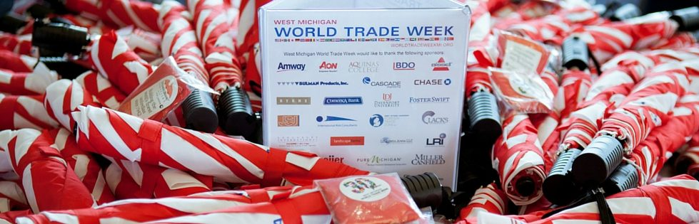 World Trade Week Swag